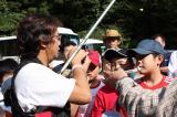 藤本釣りインストラクターの指導。